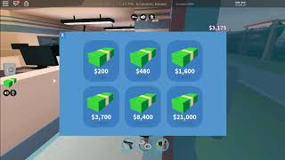 ROBLOX JAILBREAK HOW TO GET LOTS OF MONEY
