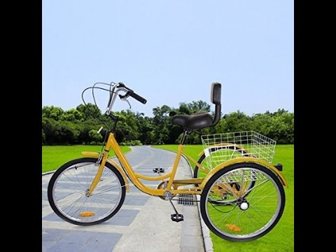 How to assemble an Adult Tricycle