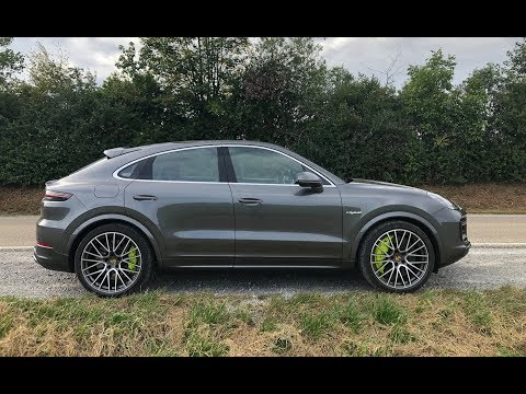 2020 Porsche Cayenne Turbo S E-Hybrid Coupe - One Take