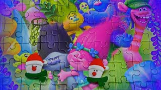 Trolls Puzzle Funny video kids puzzle story of Trolls
