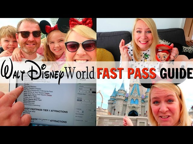ULTIMATE WALT DISNEY WORLD FAST PASS BOOKING GUIDE!