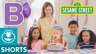 Sesame Street: B is for Birthday