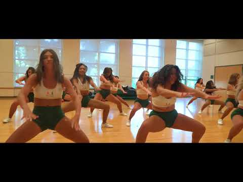 University Of Miami Hurricanettes Dance Team Auditions 2018-2019