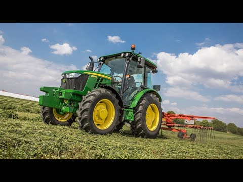Theme song from Here Comes A Tractor | For kids and children who love John Deere | Lyric Video