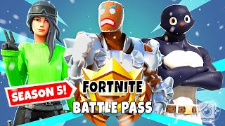 We Made OUR OWN Season 5 BATTLE PASS! (Chapter 2)