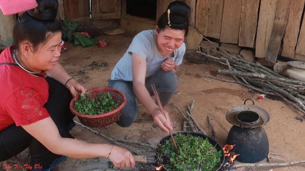 Thịt Thỏ xào Rau Má  Và Những Món Ăn Đặc Biệt Trong  Bữa Cơm Mừng Bò Mới Ở Nhà Cháu Trung