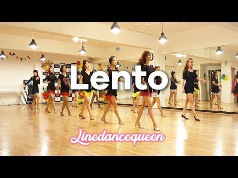 Lento Line Dance (Beginner / Improver) Ira Weisburd &  Raymond Sarlemi Demo & Count