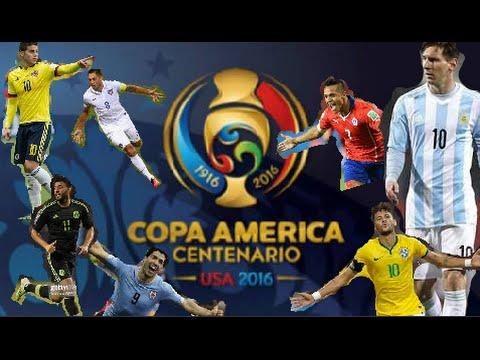 Previo-Copa América Centenario 2016