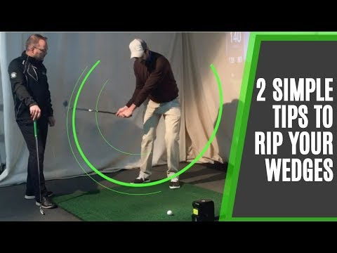 How To Hit Pitch Shots Consistently And Rip Your Wedges: 2 Simple Golf Tips