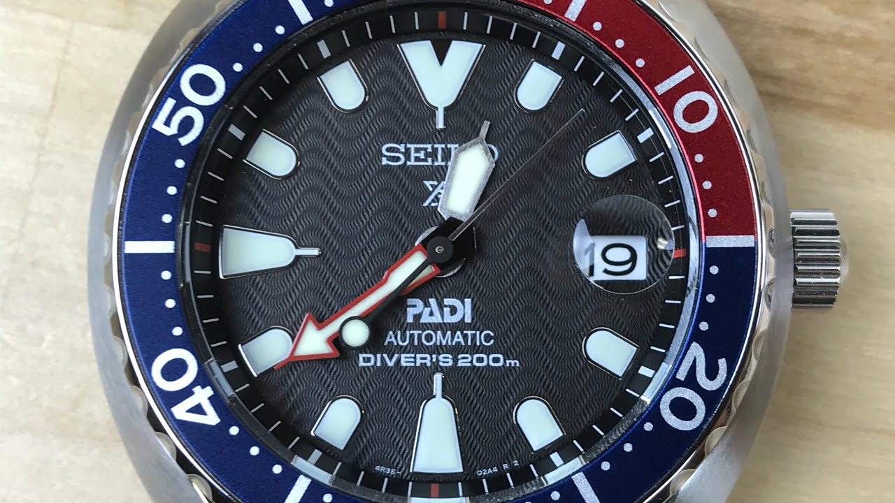 Seiko Srpc41 Padi Baby Turtle Youtube