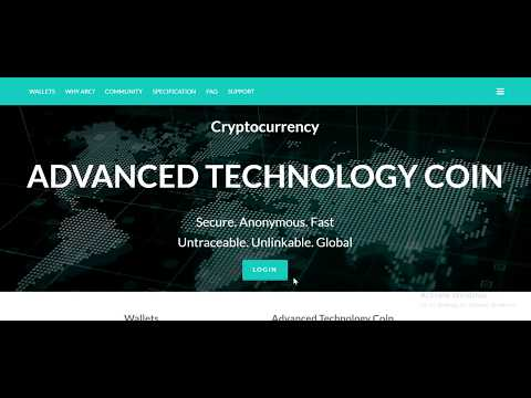 Cryptocurrency ADVANCED TECHNOLOGY