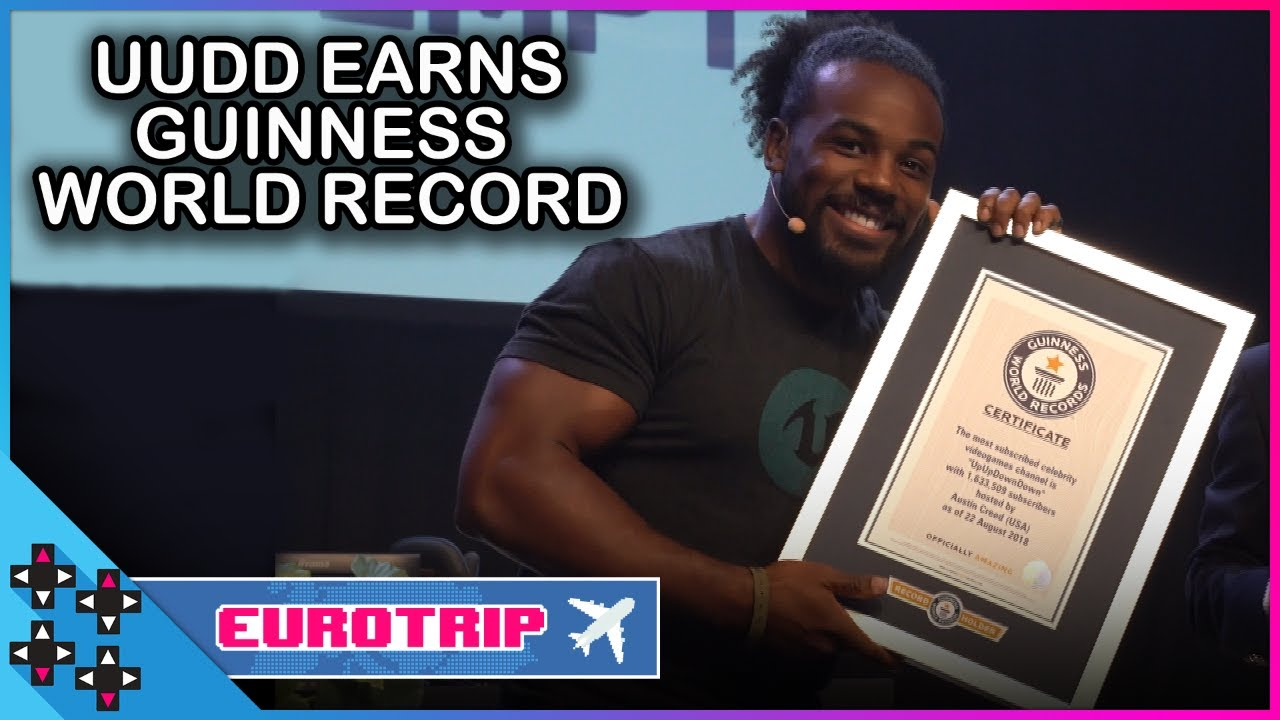 UPUPDOWNDOWN earns a GUINNESS WORLD RECORD!!! - UUDD Vlogs