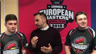 EU Masters - Intervju sa igračima pred meč