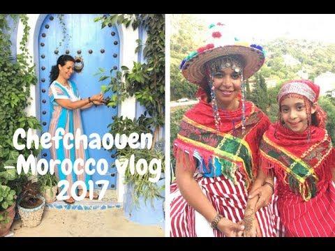 Chefchaouen-Morocco vlog 2017 المغرب-جولة مدينة شفشاون