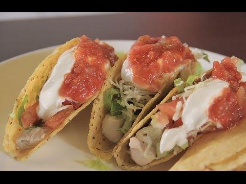 طريقة عمل تاكو الدجاج المكسيكي   مع فاطمة