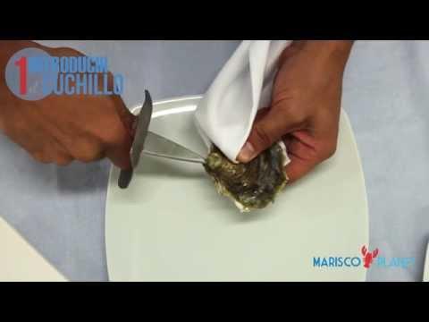 ¿Cómo se come la Ostra?