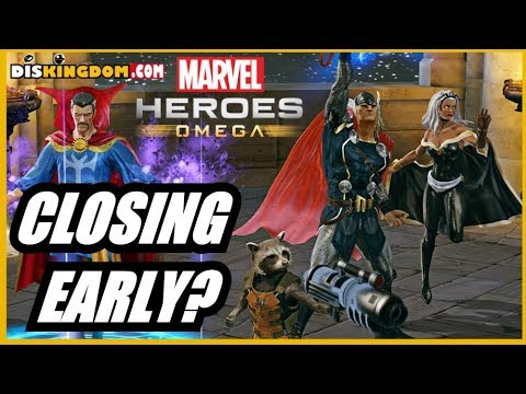 Marvel Heroes Omega Shuts Down Early