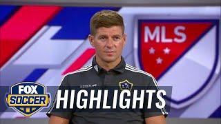Steven Gerrard joins the MLS All-Star pregame show - 2015 MLS All-Stars Highlights