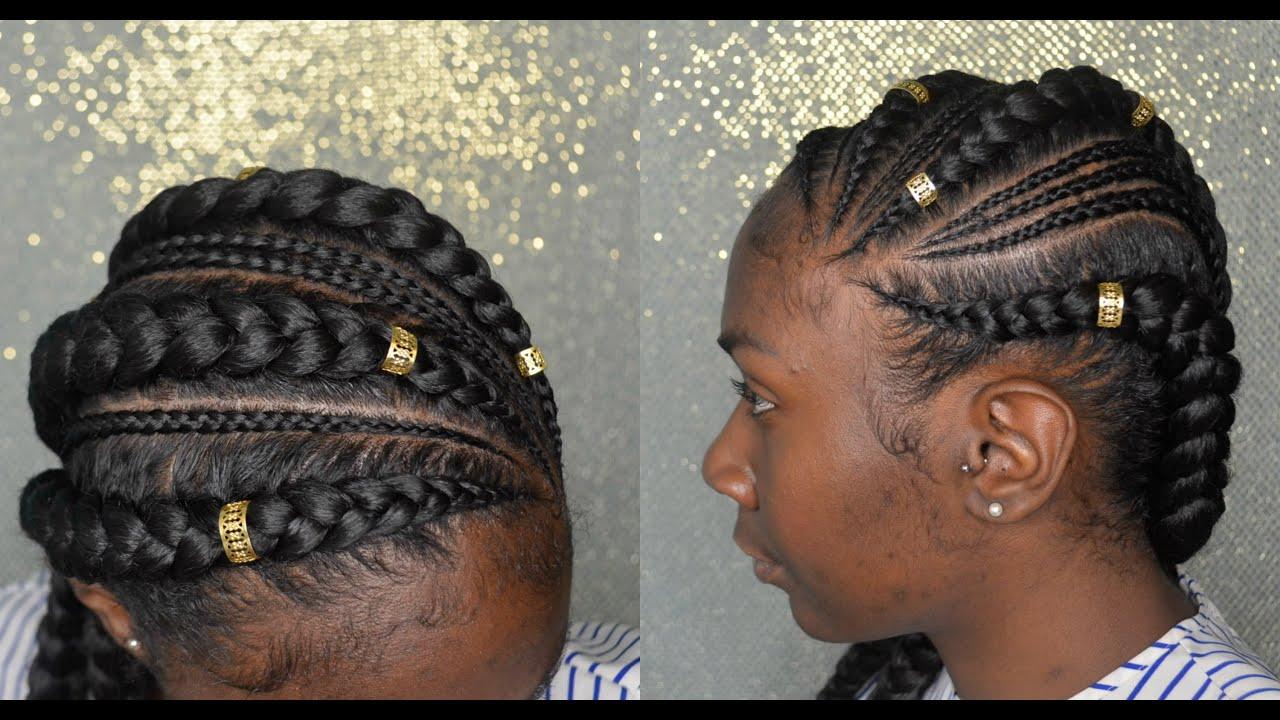 Hair Styles Feed In Braids: Feed In\Ghana Braids Ft @Handz_4_Strandz