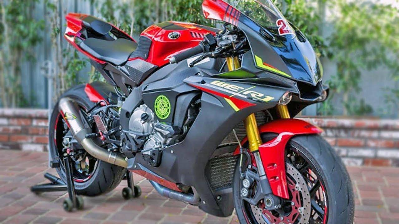 Yamaha r1 compilation 1998 to 2017 sounds revs top for Yamaha r1 top speed