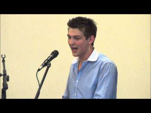 Brookeborough Elim Church - 7th July 2013. Stewart Watson sings I Will Serve