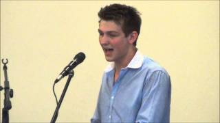 Brookeborough Elim Church - 7th July 2013. Stewart Watson sings I Will Serve