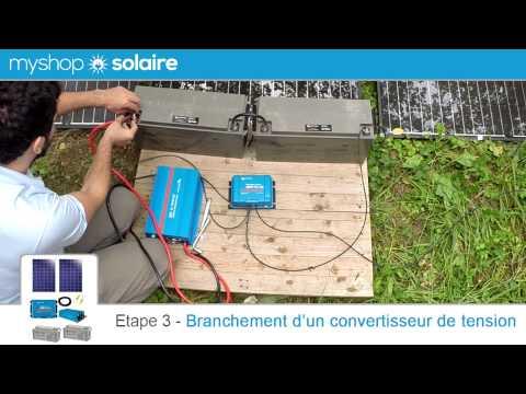 myshop-solaire---montage-d'un-kit-solaire-500w-autonome-24v-+-convertisseur-230v