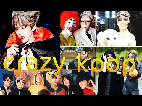 Best crazy Halloween Costume Ideas by K-Pop Idols