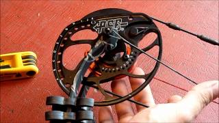 2012 PSE Evo Hybrid Cam Inner Lock Draw Stop demonstration