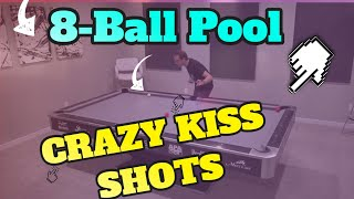 8-Ball Pool CRAZY KISS SHOTS!! -- Venom Trickshots