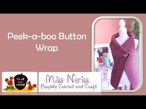Peek-a-Boo Button Wrap