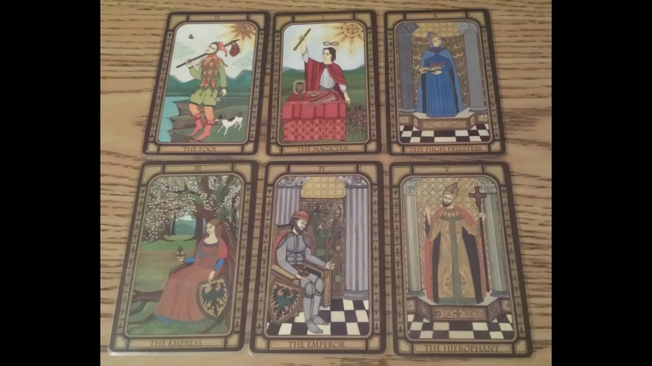 Tarot Cards : Part 1 : Major Arcana: 22 Steps (with Pictures)