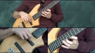 'Hallelujah' (new version) - Solo Bass - Zander Zon