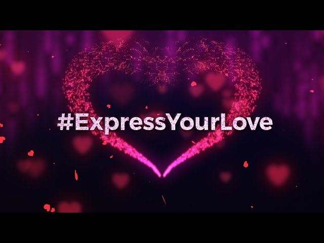 #ExpressYourLove | Here's a special Valentine's Day surprise for you!