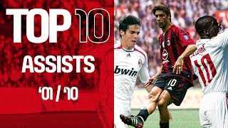 Top 10 Collections | Assists | 2001-2010