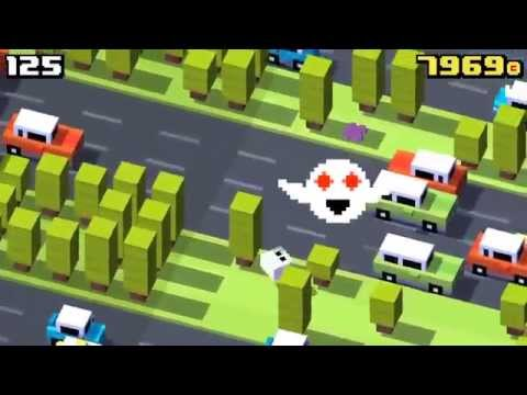 Crossy Road Scoring 330 while being annoyed by Forget-Me ...