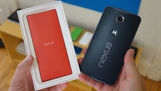 Google Nexus 6 Unboxing: Cutting Loose the Colossus