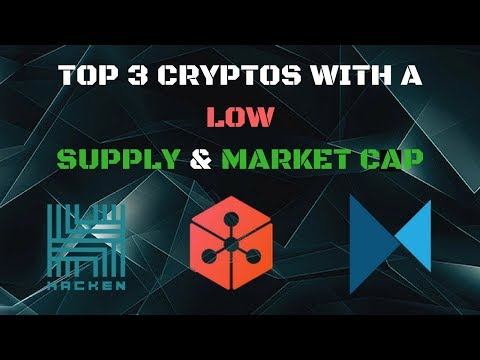 TOP 3 COINS WITH A LOW SUPPLY AND LOW MARKET CAP! 50X+ POTENTIAL!