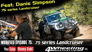 75 series Landcruiser Off-road review, Modified Episode 75