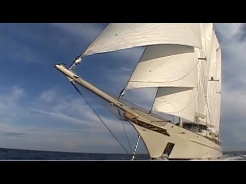 a Classic and Nice Sailing Motor Yacht