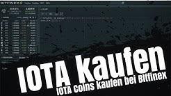 ® IOTA kaufen bei Bitfinex / Anleitung deutsch Iota Coin kaufen