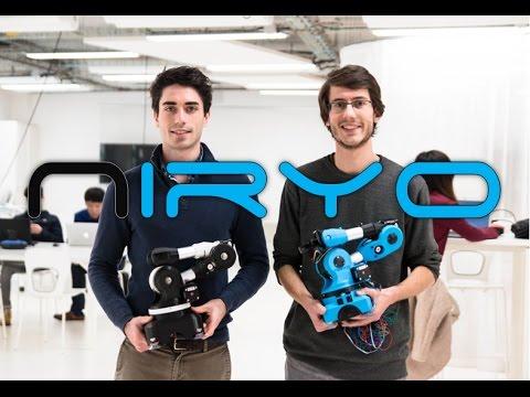 Niryo One presentation - by the funders of Niryo