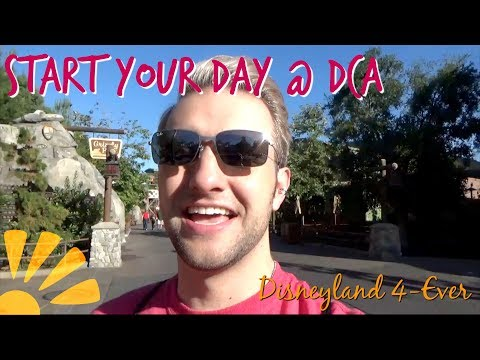 How to Start the Day at Disney California Adventure!