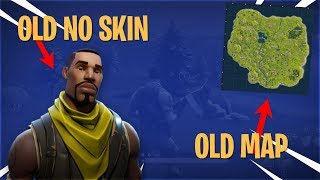 Old Fortnite Win! (Old Music, Old Default Skin, Old Storm) | 1 Year of Fortnite!