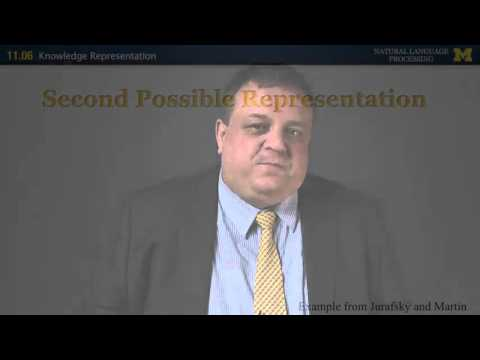 Knowledge Representation | NLP | University of Michigan