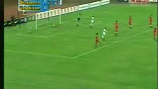 Singapore 3-7 Uzbekistan,  First Half