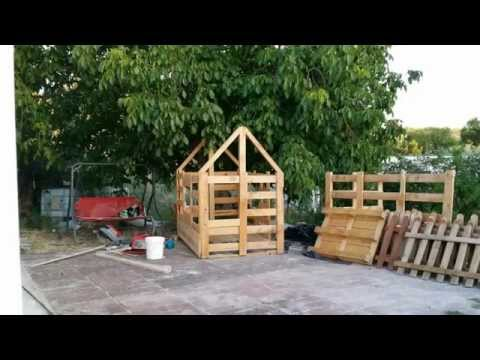 C mo construir una casita de madera para ni os doovi for Casas infantiles de madera para jardin segunda mano