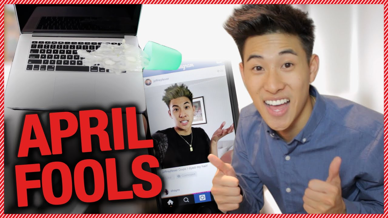 Top 5 April Fools Day Pranks w/ Jeffrey Fever