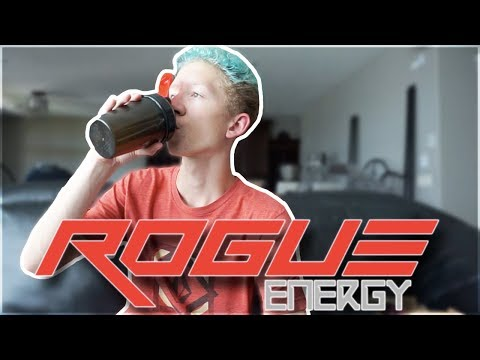ROGUE ENERGY Starter Kit: Unboxing, Review, And Taste Test! @TheRogueEnergy