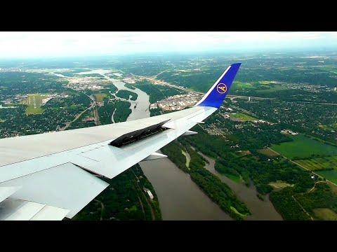 Condor Boeing 767-300ER BEAUTIFUL WINDY LANDING at Minneapolis/St. Paul Airport | ✈
